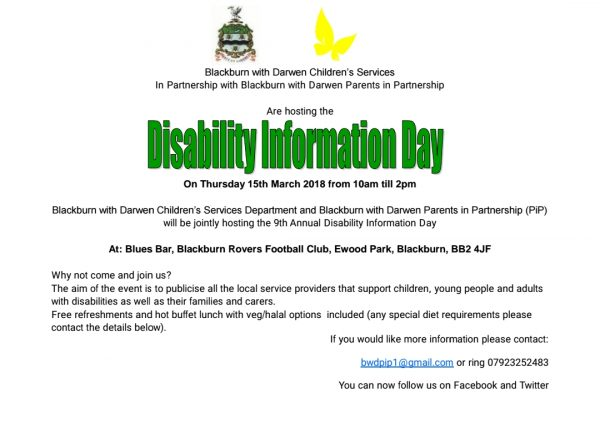 Disability Information Day 2018